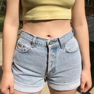 Calvin Klein vintage denim shorts